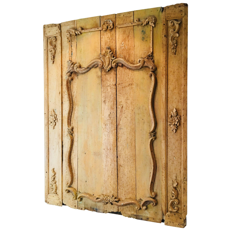 Wood Wall Panel For Sale at 1stdibs