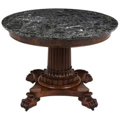 Regency Empire Centre Table, circa 1840s