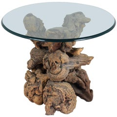 Round Root Side Table