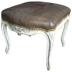 Louis XV Upholstered Bench