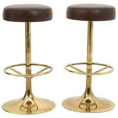 Pair of Bar Stools by Börje Johanson Design, Sweden, 1970s