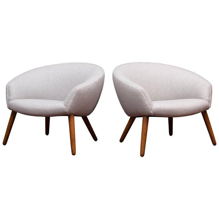 Nanna Ditzel AP 26 Lounge Chairs For Sale