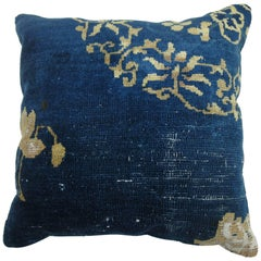 Antique Chinese Rug Pillow
