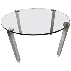 Gerald McCabe Steel 'Clamp Base' Dinette Table