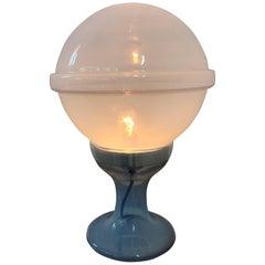 Mid-Century Modern Table Lamp Designed by Carlo Nason for Mazzega, Murano Glass