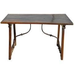 Late 16th-Early 17th Century Trestle Leg Walnut Table