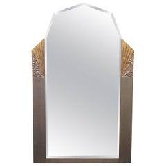 Vintage Gilded Art Deco Mirror