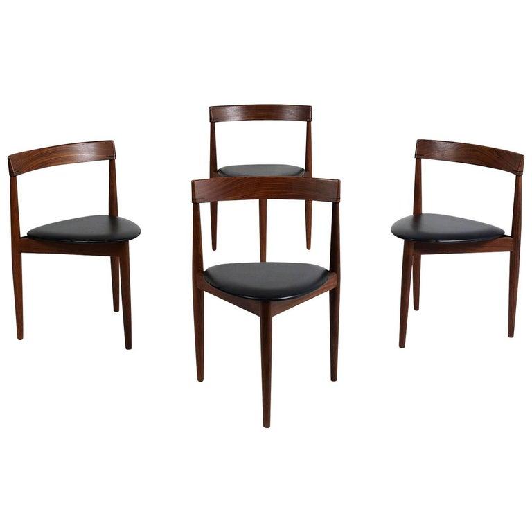 Set of Four Hans Olsen for Frem Rojle Dining Chairs