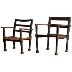 Pair of Ethiopian Chairs