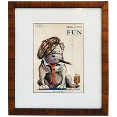 Framed Magazine of Fun Cover