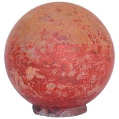 Concrete Garden Ball
