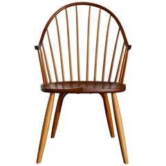 Handcrafted Continuous Armchair by John Onstine