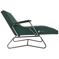 Lounge Chair with System, Dupré-Perrin / Maurice Barret, France, 1930