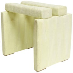 Stool I, Modern Seating and Sculpture in Medical Cast Tape