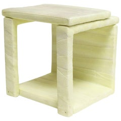 Stool III, Modern Seating and Sculpture in Medical Cast Tape