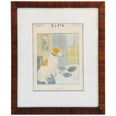 Framed Life Magazine Cover, November 1916