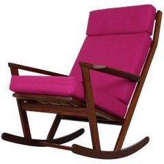 Poul Volther Rocking Chair, Frem Rojle Denmark, 1960s