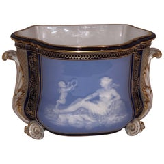 Meissen Pate Sur Pate Porcelain Centerpiece Depicting Cupid and Psyche