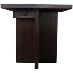 1940s Walnut Game Table