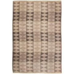 Swedish Flat-Weave Double Sided Rug