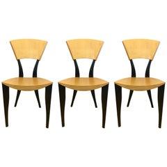 Three Sawaya & Moroni Made in Italy Karina/Karina Tv Chairs J. Mancini&G. Dorell