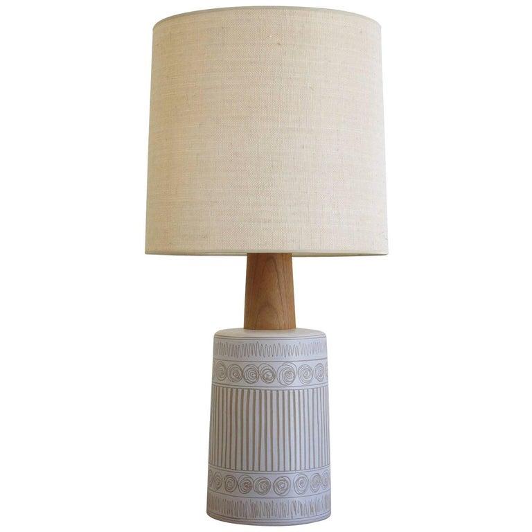 Midcentury Martz Glazed Ceramic Lamp for Marshall Studios