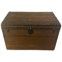 Louis Vuitton Canvas Steamer Trunk, circa 1880