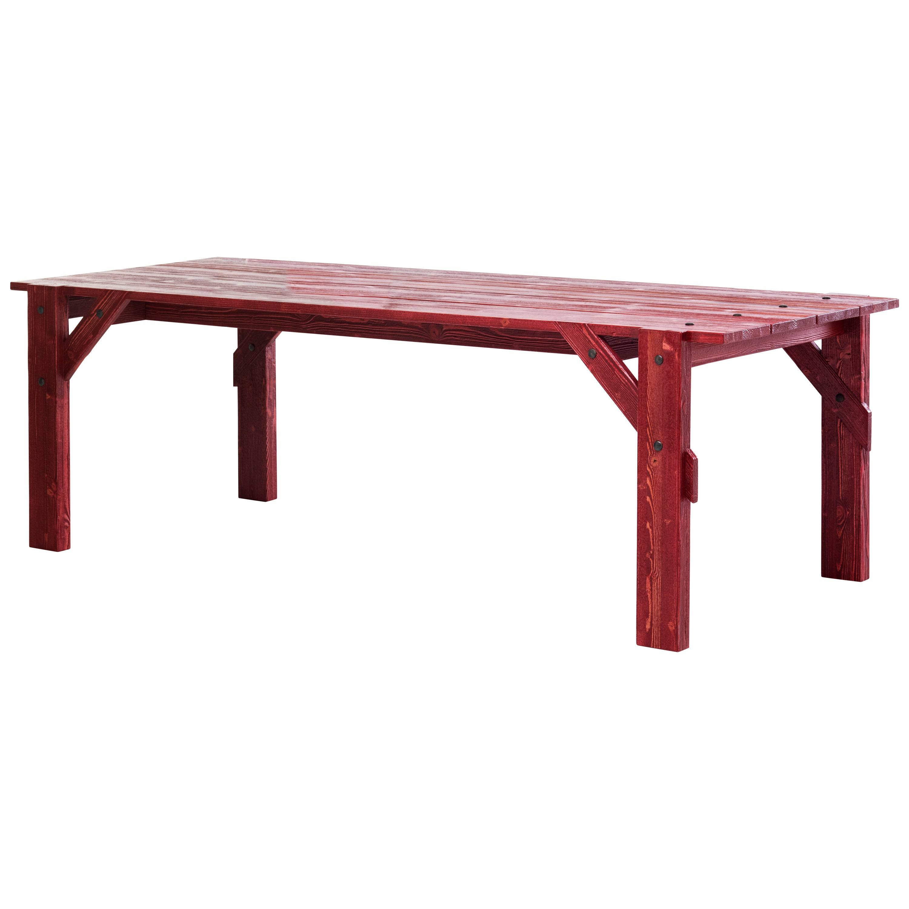 Large Officina Dining Table in Matte Finish by Mogg