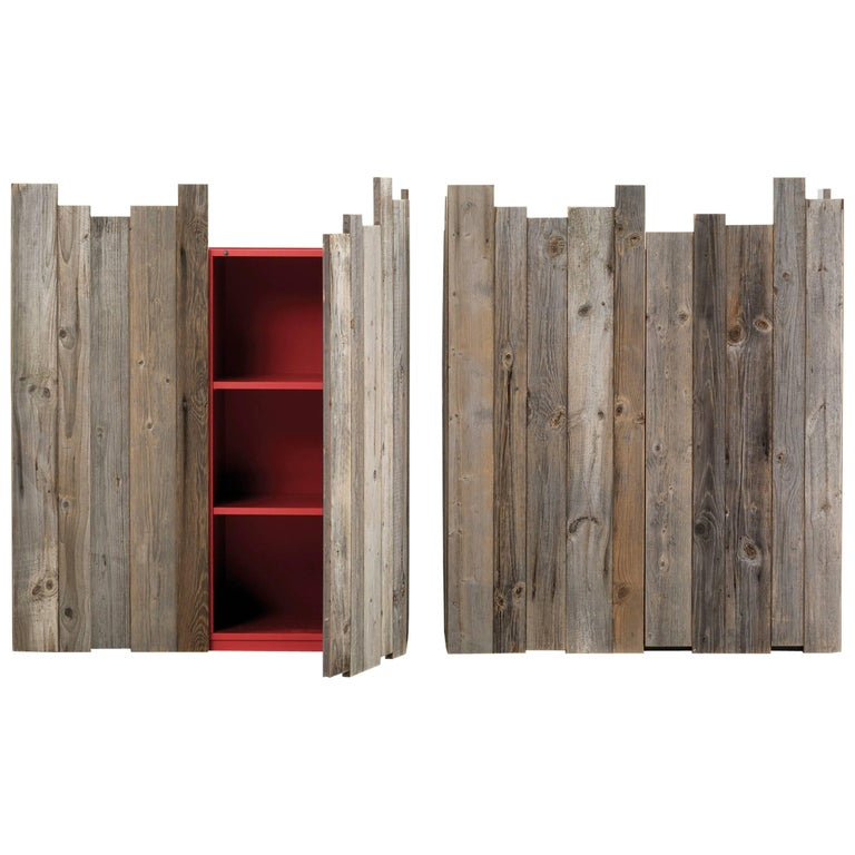 Zio Tom Two-Door Cabinet by Claudio Bitetti & Mogg