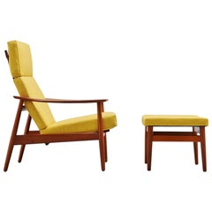 Arne Vodder FD164 Adjustable Lounge Chair France & Son 1962