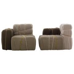 Contropakko Padded Armchair by Marcantonio & Mogg