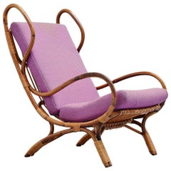 Gio Ponti Continuum BP16 Lounge Chair Bonacina Italy 1963