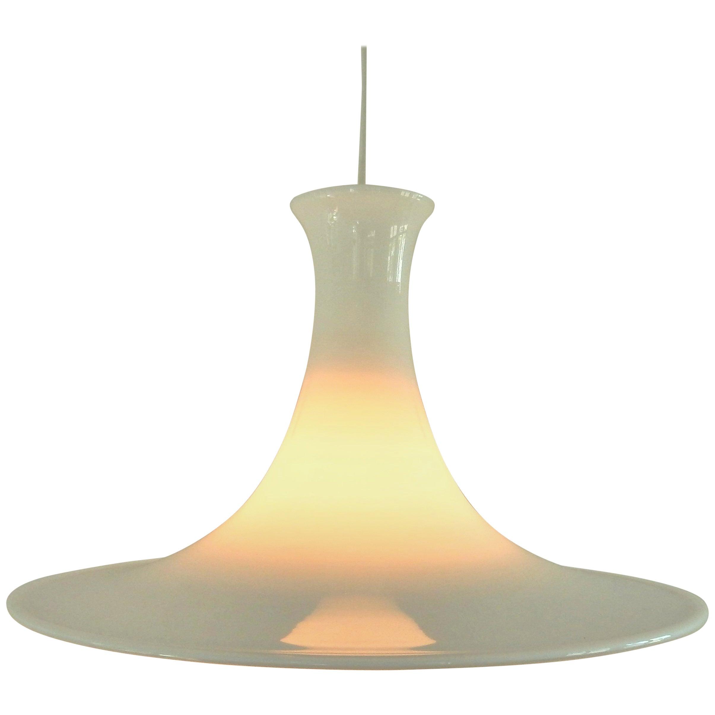 """Mandarin"" Pendant Lamp by Michael Bang for Holmegaard/Royal Copenhagen, 1980s"