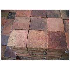 Old Terra Cotta Floortiles