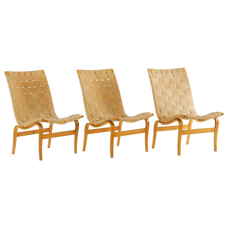 Bruno Mathsson, Eva Chairs, Sweden, 1941