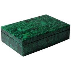 Beautiful Malachite Box by Studio Superego, Unique Piece, Italy