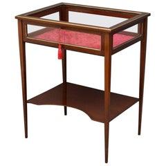 Late Victorian Mahogany Bijouterie Table