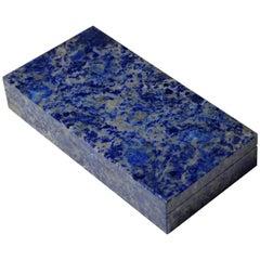 Beautiful Lapis Lazuli Box by Studio Superego, Unique Piece, Italy