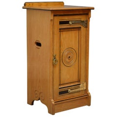 Aesthetic Movement Bedside Cabinet