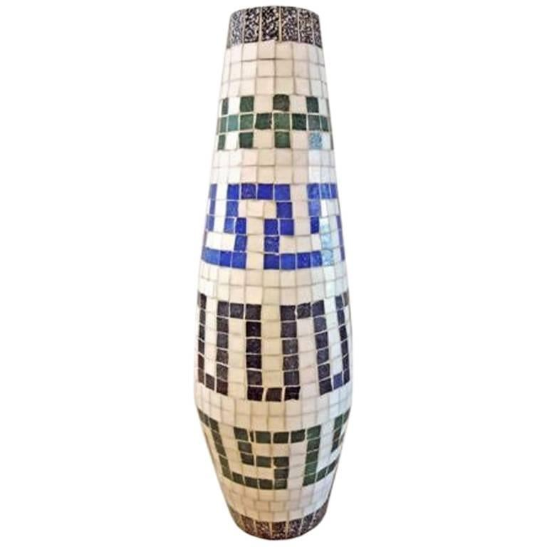 1960s Mosaic Vase For Sale At 1stdibs