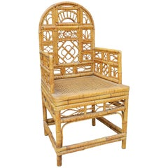 19th Century Oriental Bamboo Sofa