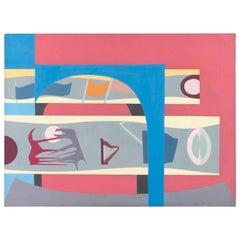 Claude Bouscharain Acrylic on Canvas