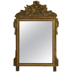 18th Century French Louis XVI Giltwood Mirror