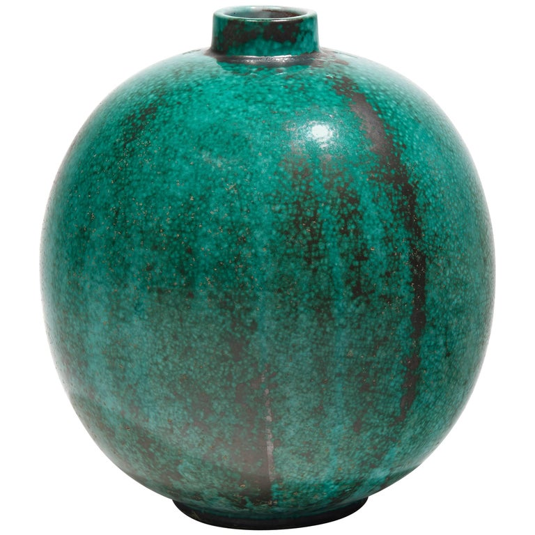 Spherical Vase By Primavera Circa 1925 For Sale At 1stdibs