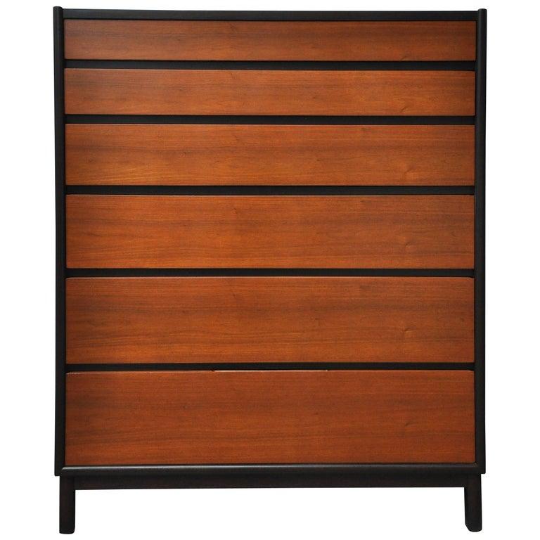 Dunbar Tall Six-Drawer Dresser by Edward Wormley For Sale
