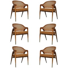 Captain Armchairs by Edward Wormley for Dunbar