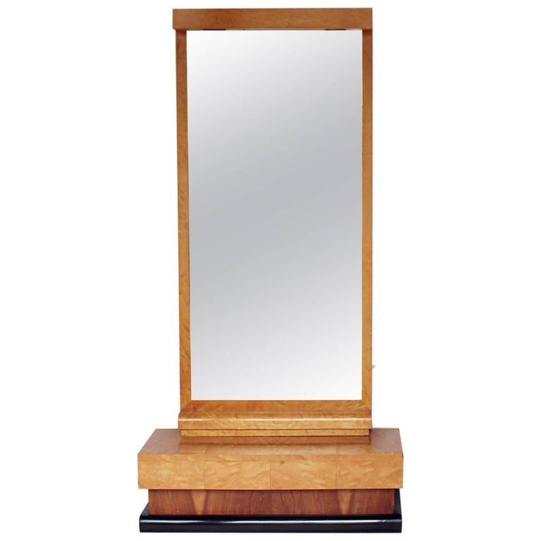 Art Deco Freestanding Mirror