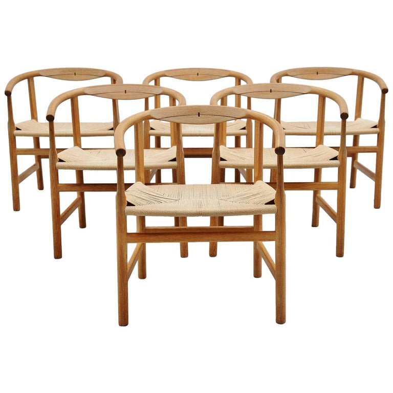 Hans Wegner PP203 Dining Chairs PP Mobler, Denmark, 1969