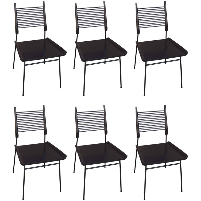 Set of Six Planner Group Dining Chairs, Model 1533 by Paul McCobb