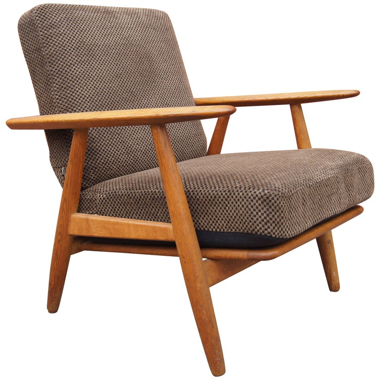 GE-240 Lounge Chair by Hans Wegner for GETAMA